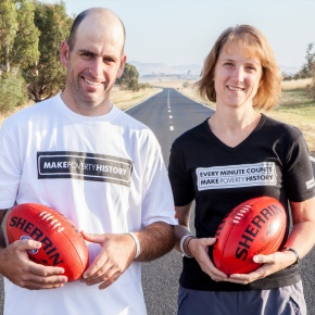 Failure not an option for 2,250kms povertywalk
