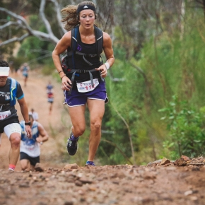 Wallygrunta trail race faster thanever