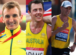Men's marathoners selected for green and gold