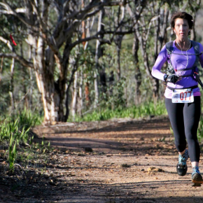 Trail running astherapy